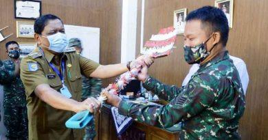 Penyerahan Pekerjaan TMMD oleh Bupati Bengkulu Utara