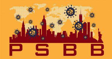 Illustrasi Lockdown PSBB