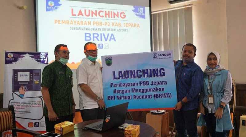 Peluncuran Pembayaran PBB lewat Briva