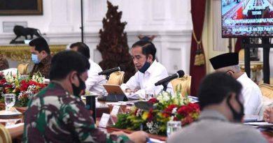 Rabat terbatas presiden dengan para jajaranya
