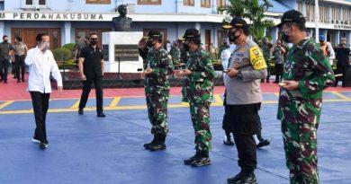 Presiden Joko Widodo Bertolak dari Halim Perdana Kusuma menuju Kalimantan Tengah