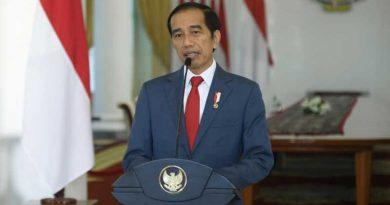 Presiden Joko Widodo Memberi sambutan Kepada Capaja TNI-Polri
