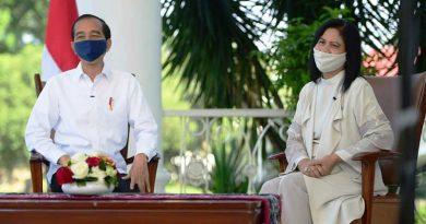 Presiden Joko Widodo dan Ibu Negara Iriana Menyapa Anak Indonesia Di Hari Anak Nasional