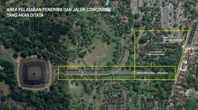 Pembangunan Plaza Candi Borobudur