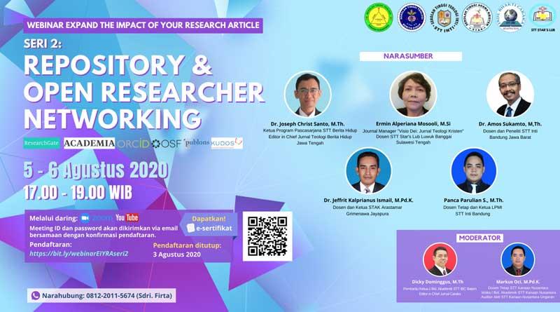 Webinar-Repository-dan-Open Researchher Networking