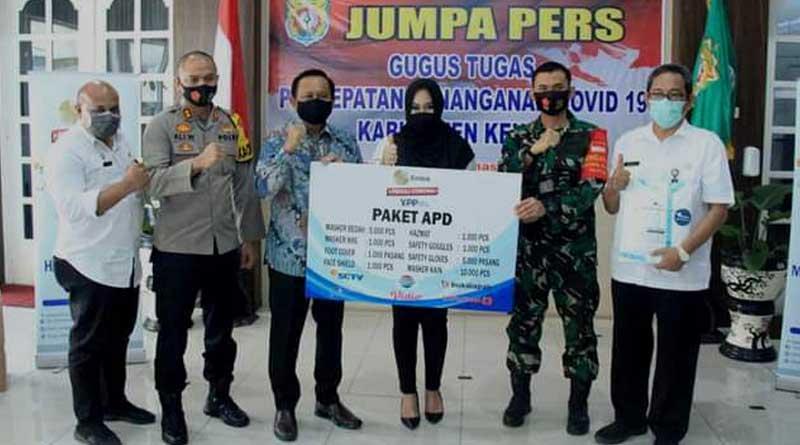Bantuan-Paket-APD-dari-Indosiar-kepada-pemerintah-Kendal