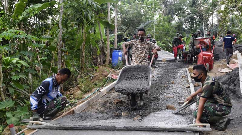 TMMD-Bangun-Desa-Tertinggal,-Momen-Terindah-TNI-Kodim-0708-Purworejo
