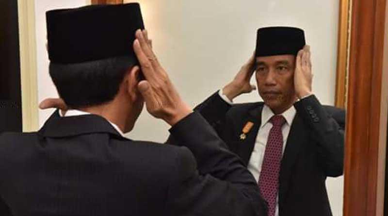 Jokowi-Hari-Santri-Nasional