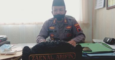 Kapolsek Wonosari Zaenal Arifin-jurnaljateng.id