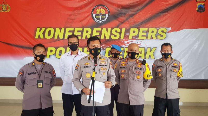 Kapolres Demak Limpahkan Kasus Anak dan Ibunya-jurnaljateng.id