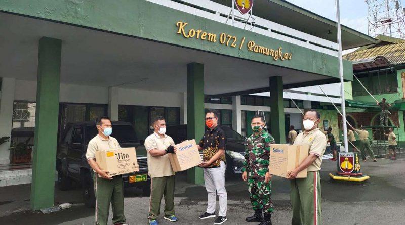 Korem 072-Pamungkas dapat Bantuan-Jurnaljateng.id