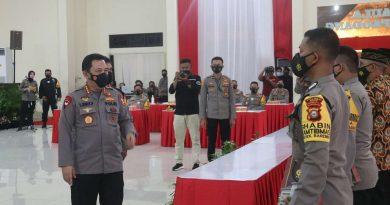 Kapolri Listyo Sigit Prabowo beri reward dua anggota sekolah inspektur