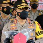 Kapolda Jateng pers release pembunuhan di almari