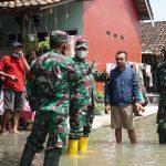 Dandim 0732 Batang tinjau banjir
