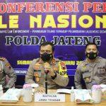 Kapolda Jateng Muhammad Luthfi pers release ELTE