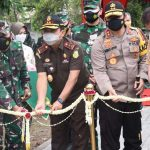 Pangdam IV Diponegoro Mayjen TNI Bakti Agus Fadjari Bersama Kapolda Jawa Tengah Resmikan RS Untuk Pasien Covid