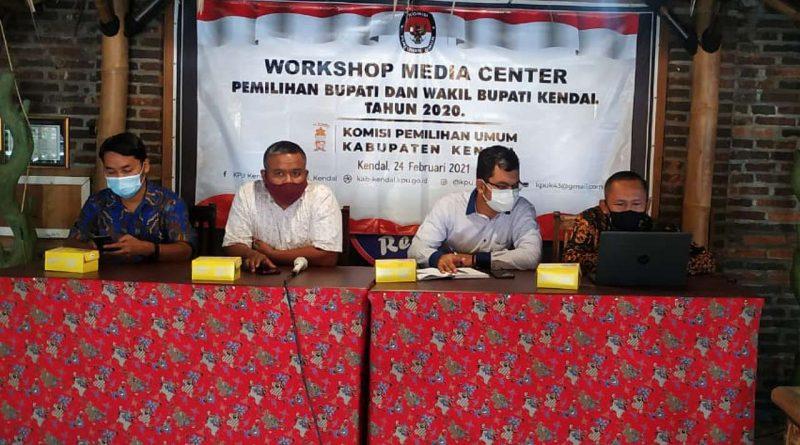 KPU Gelar Workshop Bersama Wartawan Kendal