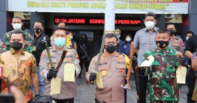 Kapolda Jateng Ahmad Luthfi penangkapan premanisme di surakarta