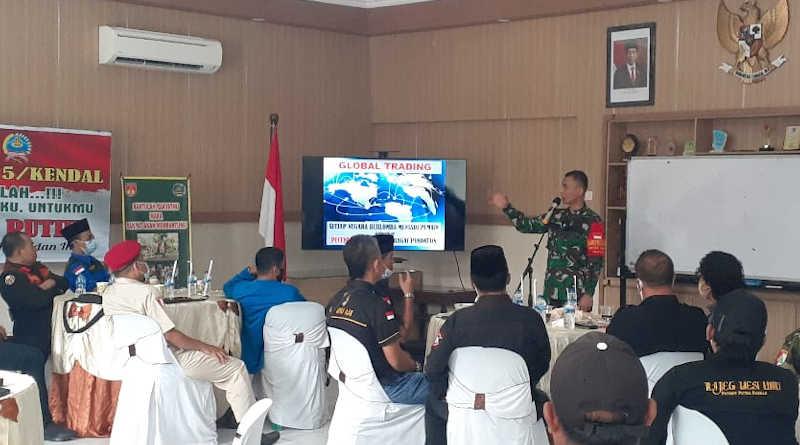 Dandim 0715 kendal Iman Widhiarto