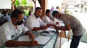 Penyaluran BLT-DD Desa Margomulyo Kendal