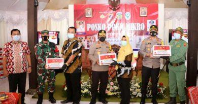 Kunjungan Kapolda Jateng Ahmad Luthfi ke pos PPKM MIcro demak dan Jepara