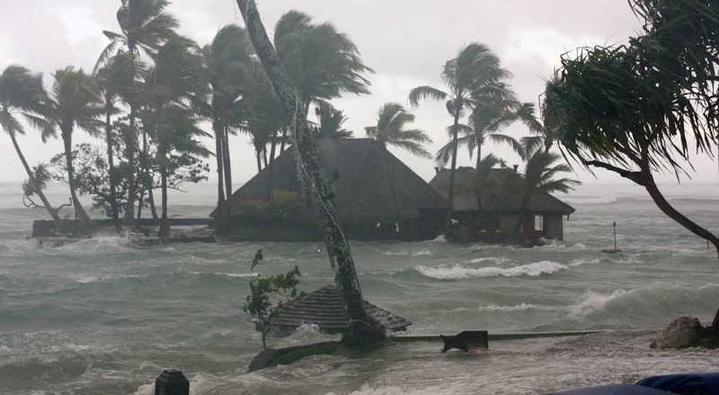 Ilustrasi banjir Rob Pesisir