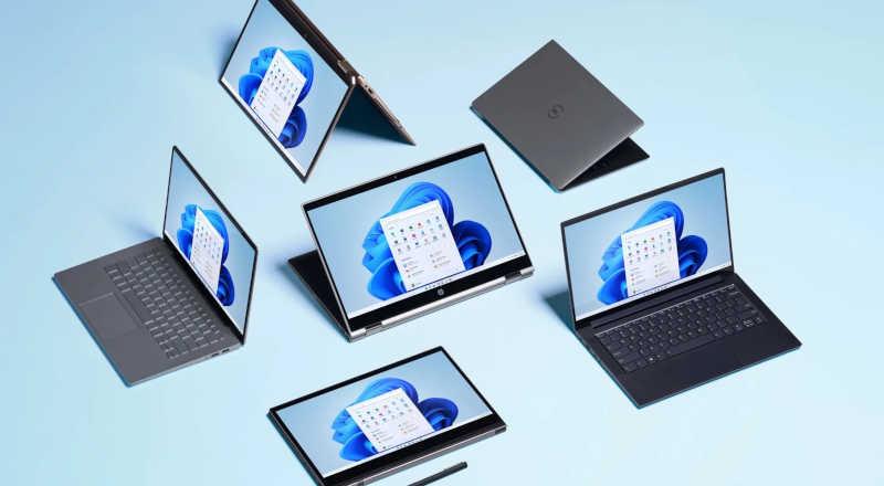 Ilustrasi Microsoft Windows 11