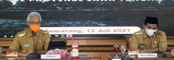 Gubernur Jawa Tengah Daerah Varian delta-jurnaljateng