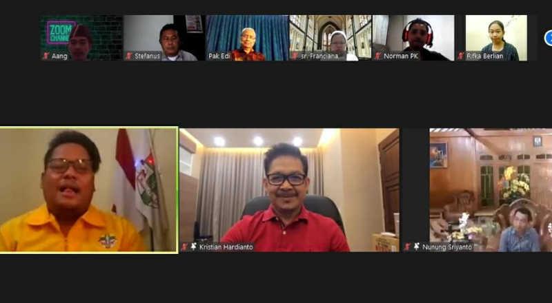 Pemuda Katolik Gelar Acara Greeting and Gathering Se Kota Semarang-jurnaljateng