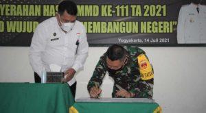 Penutupan TMMD Kota Yogyakarta