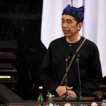Presiden Joko Widodo sidang MPR 2021