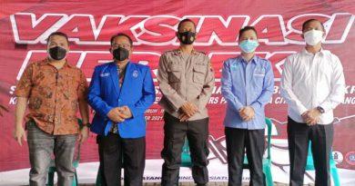 Vaksin merdeka di RS Panti Wilasa Kota Semarang-jurnal